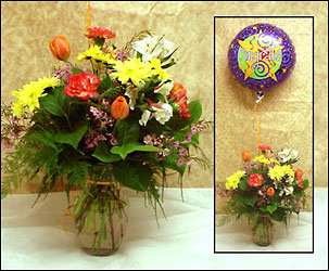 Celebrate Bouquet In Waterford Michigan Jacobsen's Flowers