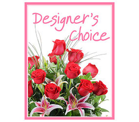Designer's Choice - Valentine's Day In Waterford Michigan Jacobsen's Flowers