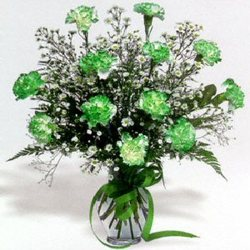 St. Patrick's Day Bouquet In Waterford Michigan Jacobsen's Flowers