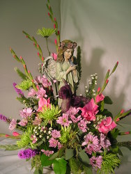 Keepsake Angel Arrangement In Waterford Michigan Jacobsen's Flowers