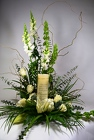 Inspirational Candle Arrangement In Waterford Michigan Jacobsen's Flowers