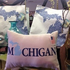 Michigan Pillows, Totes and Blankets