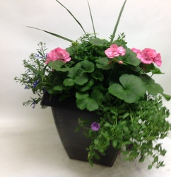 BEAUTIFUL PAIR OF PATIO PLANTERS In Waterford Michigan Jacobsen's Flowers