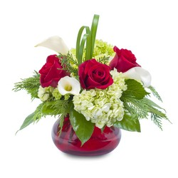 Chic Winter Romance In Waterford Michigan Jacobsen's Flowers