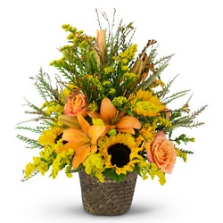 Fall Harvest Basket In Waterford Michigan Jacobsen's Flowers