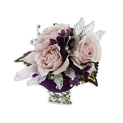 Shimmer Wrist Corsage In Waterford Michigan Jacobsen's Flowers