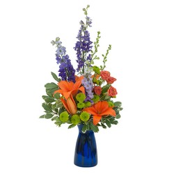 Cheer the Blues In Waterford Michigan Jacobsen's Flowers